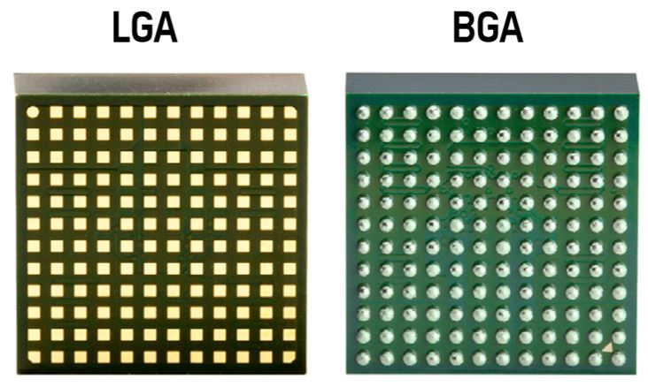 LGA vs BGA sockets