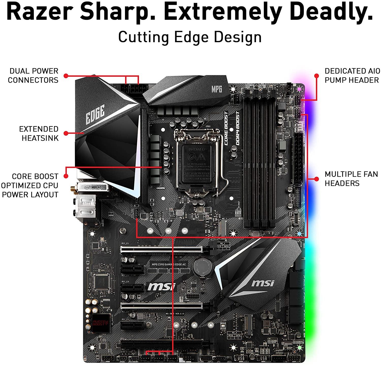 MSI Motherboard PCIe