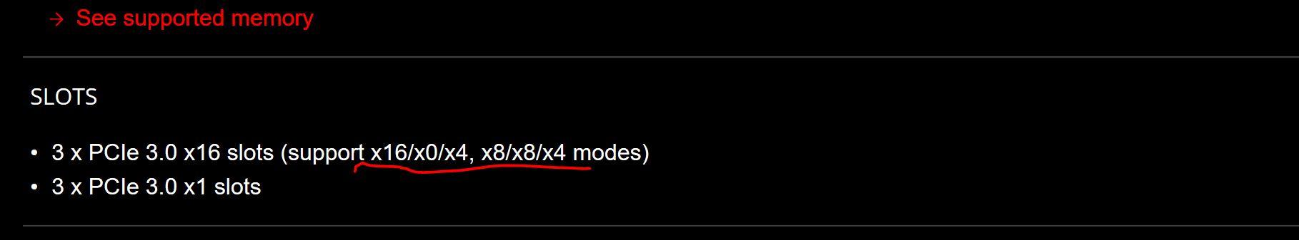 X16 slot