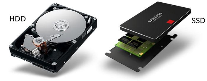 7200 rpm Hard Drive vs SSD