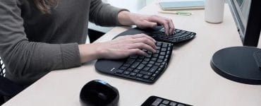 Accountant Ergonomic Keyboard