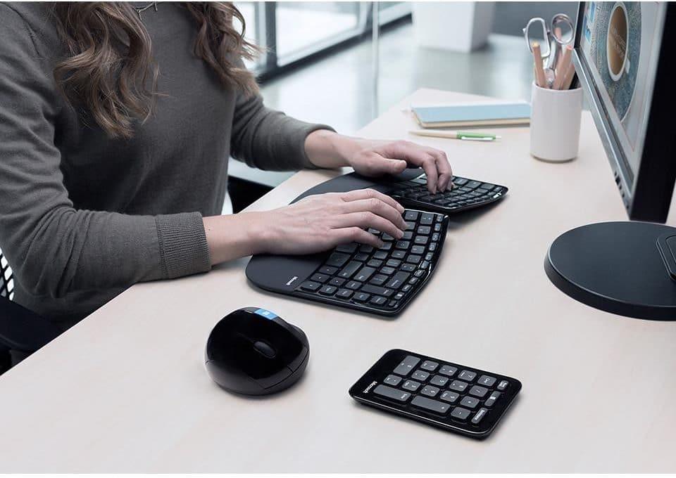 Accountant Ergonomic Keyboard