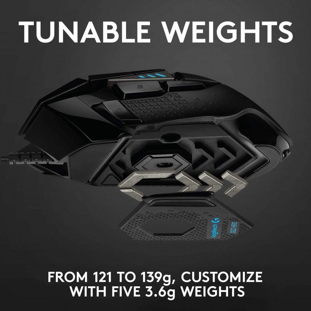 adjustable weights