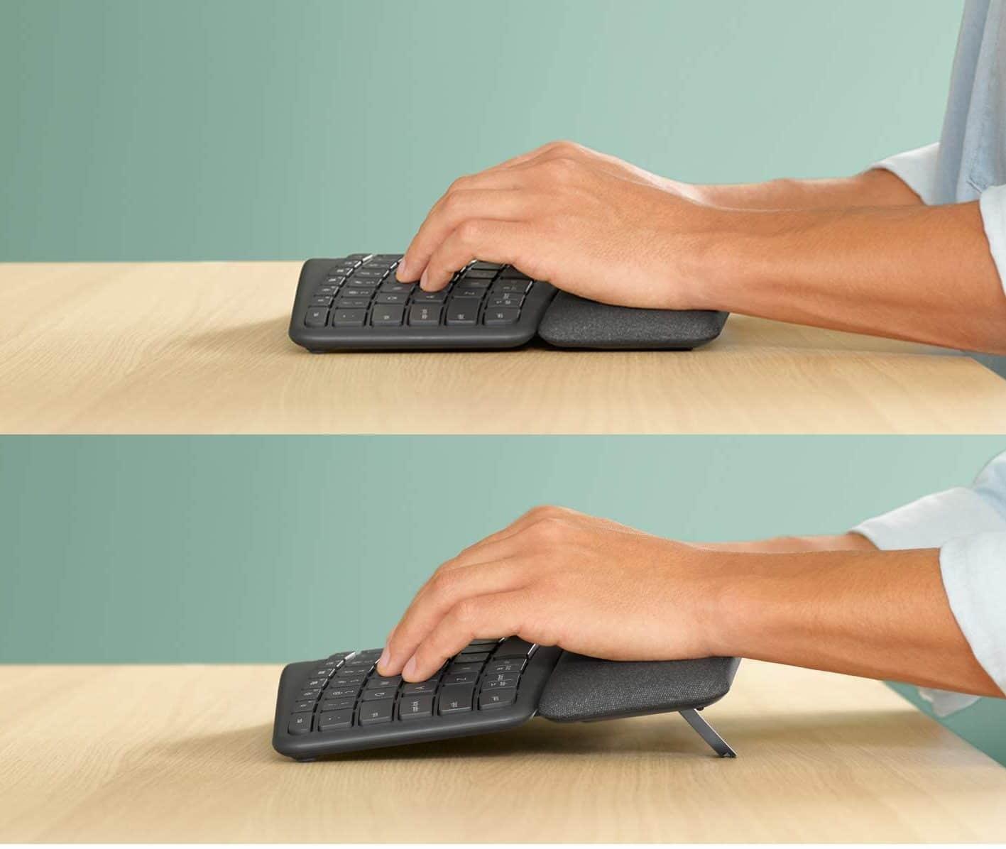 ergonomic logitech keyboard