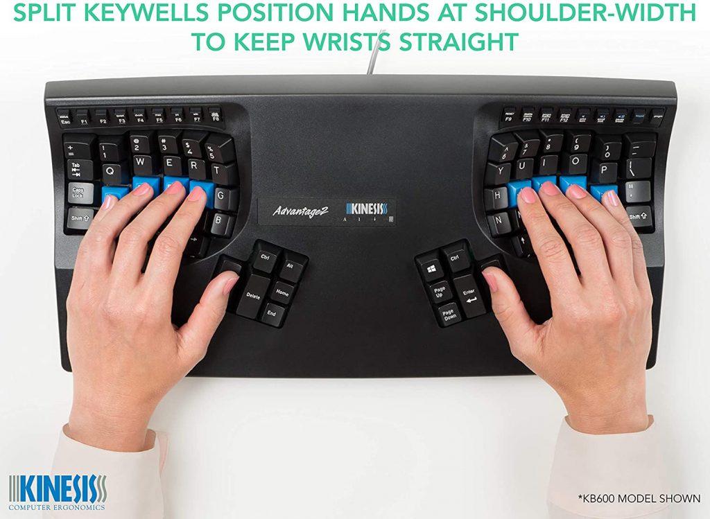 ergonomic programming keyboard