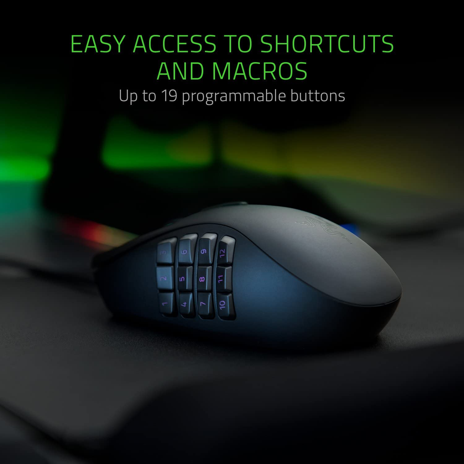 mouse with programmable keys