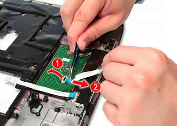touchpad removal