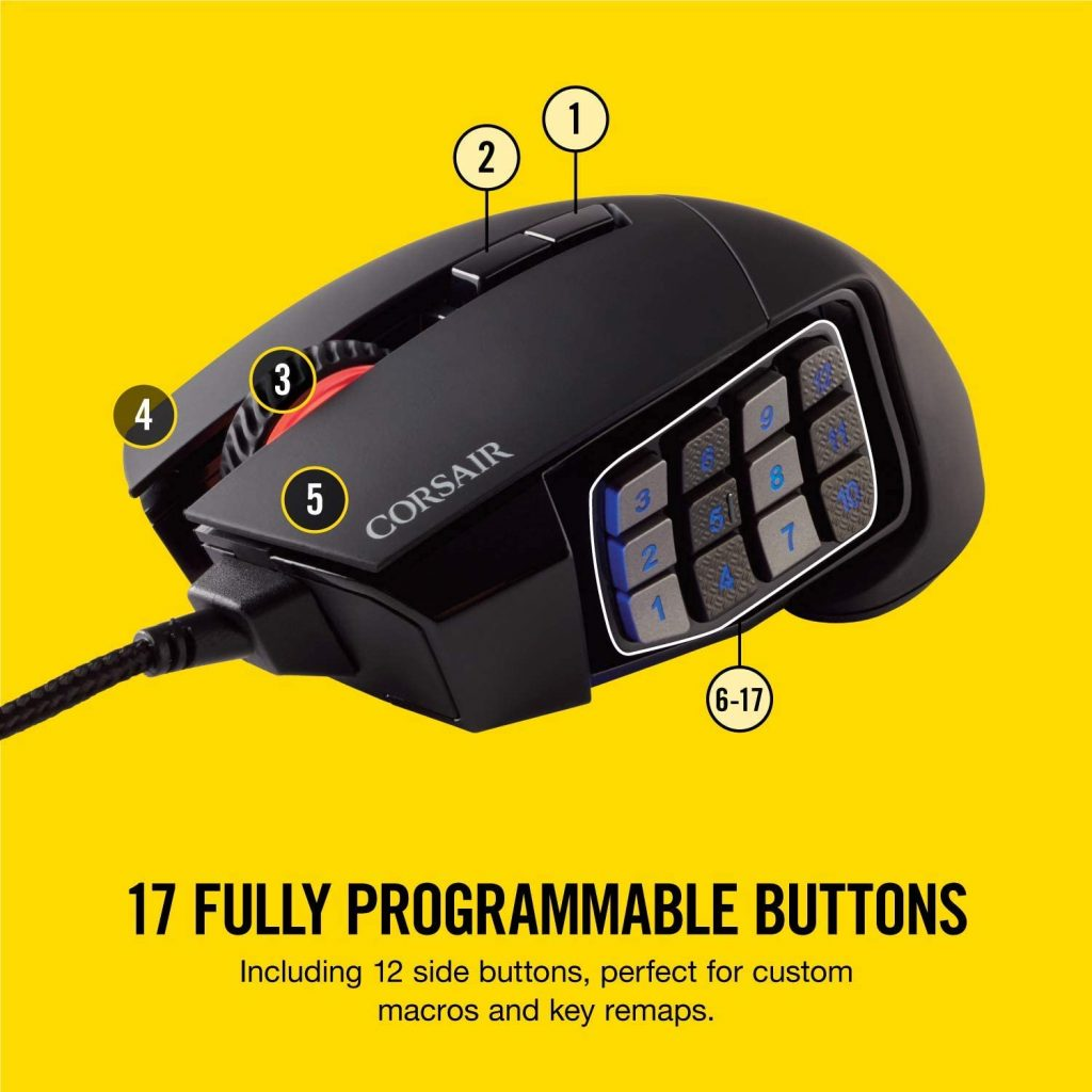 best mouse with side buttons
