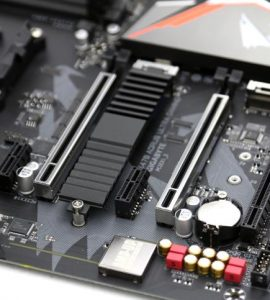 two pcie x16 reinforced PCIe slot